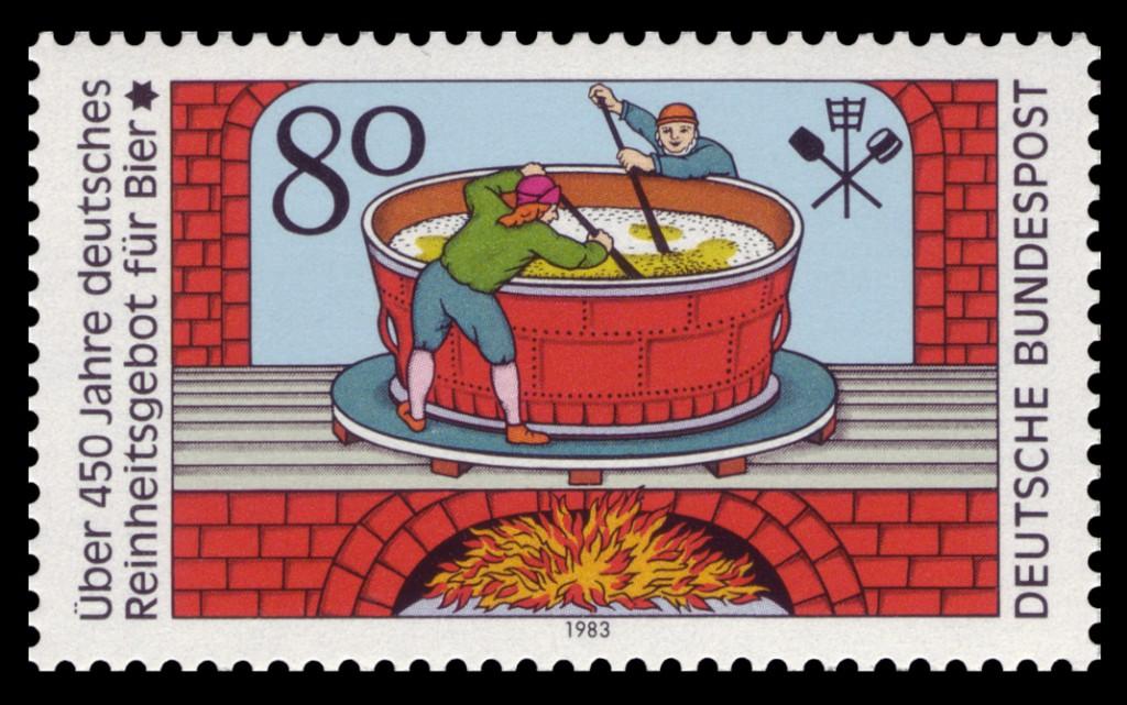 Briefmarke 1983 Reinheitsgebot